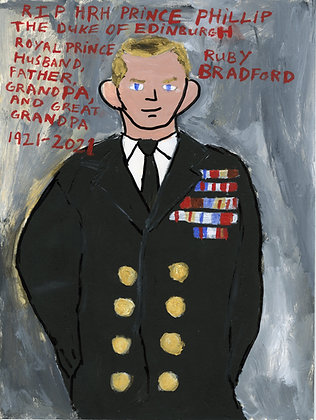 """Prince Philip of Edinburgh"" by Ruby Bradford"