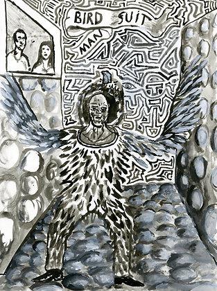 """""""Bird Suit Man"""" by Luke Shemroske"""
