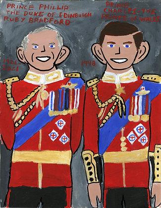 """Prince Philip of Edinburgh 2"" by Ruby Bradford"