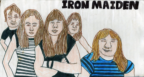 """""""Iron Maiden"""" by Ricky Willis"""