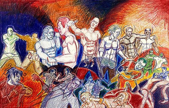 """Brawl"" by David Hence"