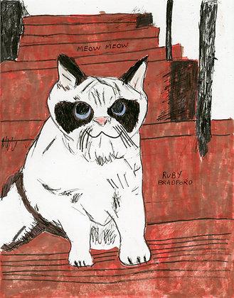 """Meow Meow"" by Ruby Bradford"
