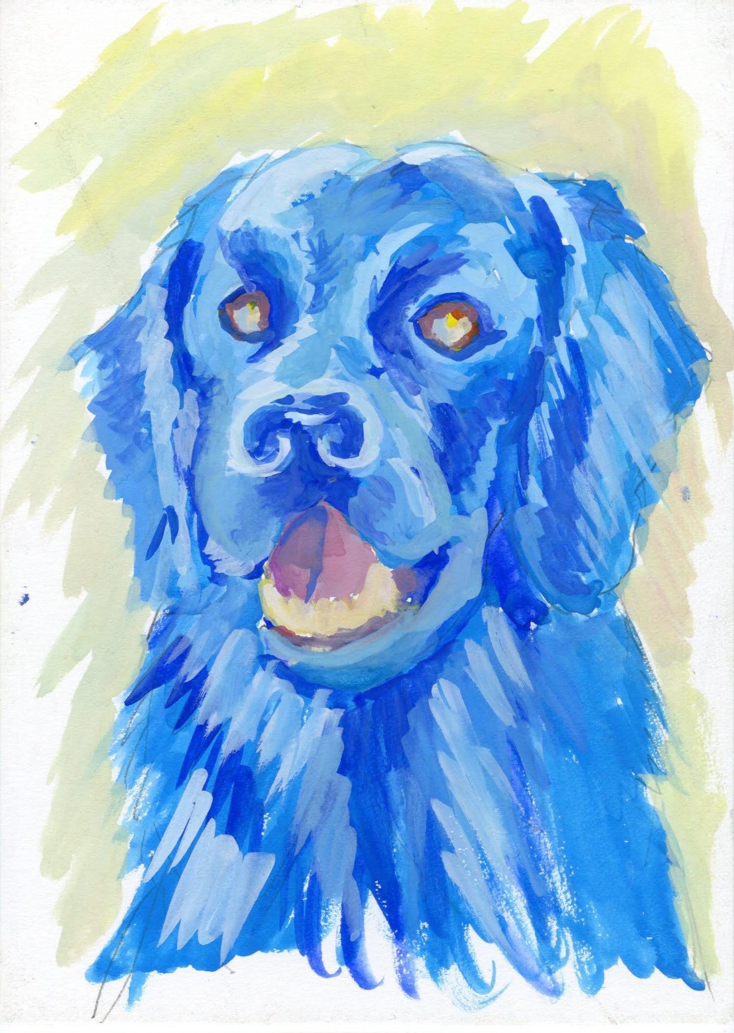 """Blue"" by David Hence"