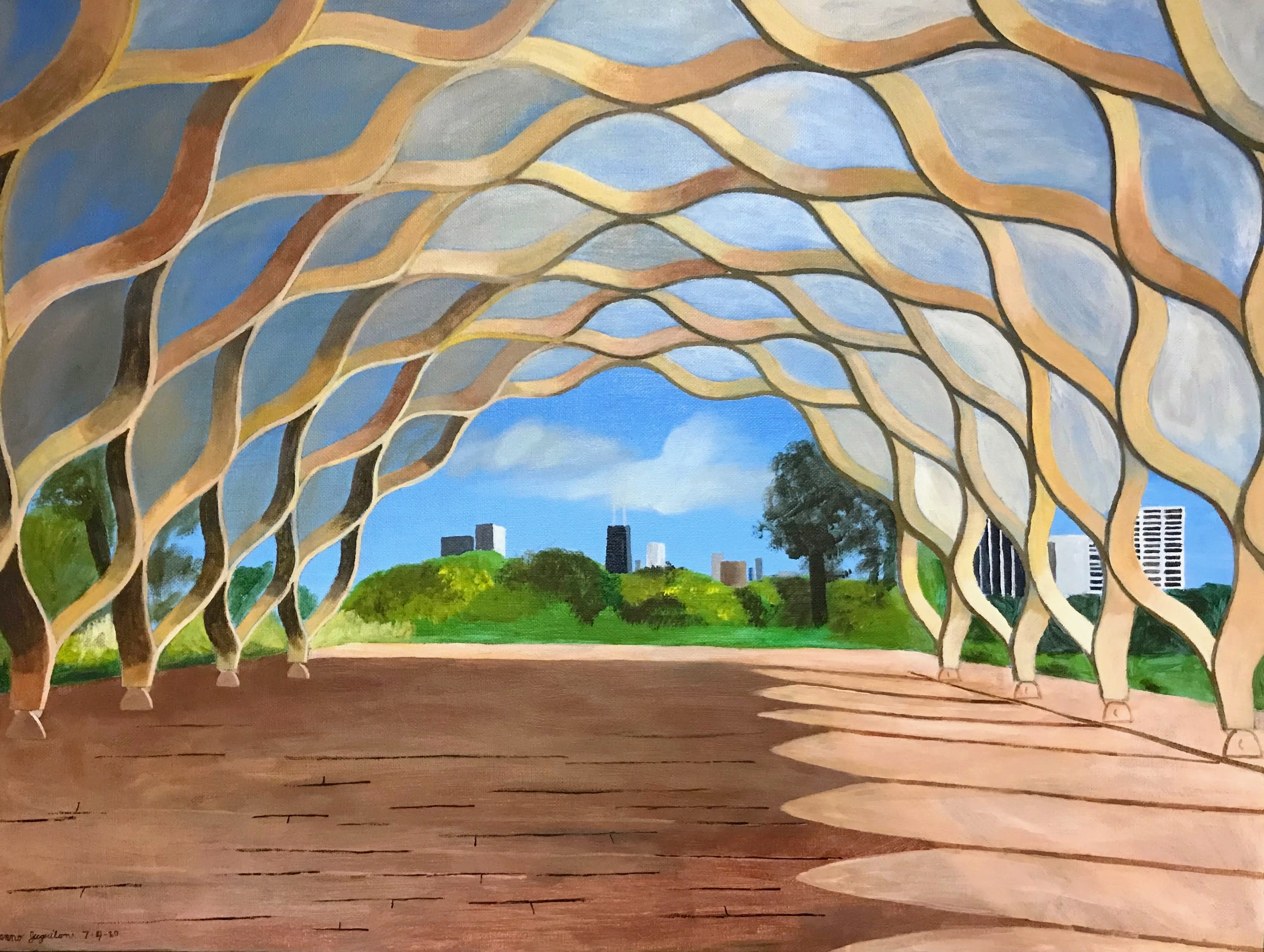 """""""Gateway to Chicago"""" by Janno Juguilon"""