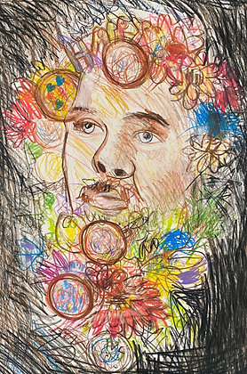 """""""Man of Flowers"""" by Michael Smith"""