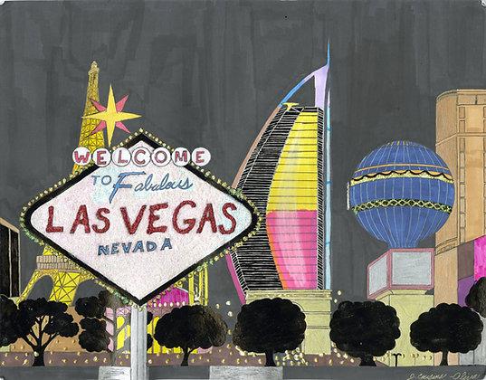 """Vegas"" by Jacqueline Cousins Oliva"
