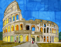 """""""The Colosseum"""" by Jacqueline Cousins-Oliva"""