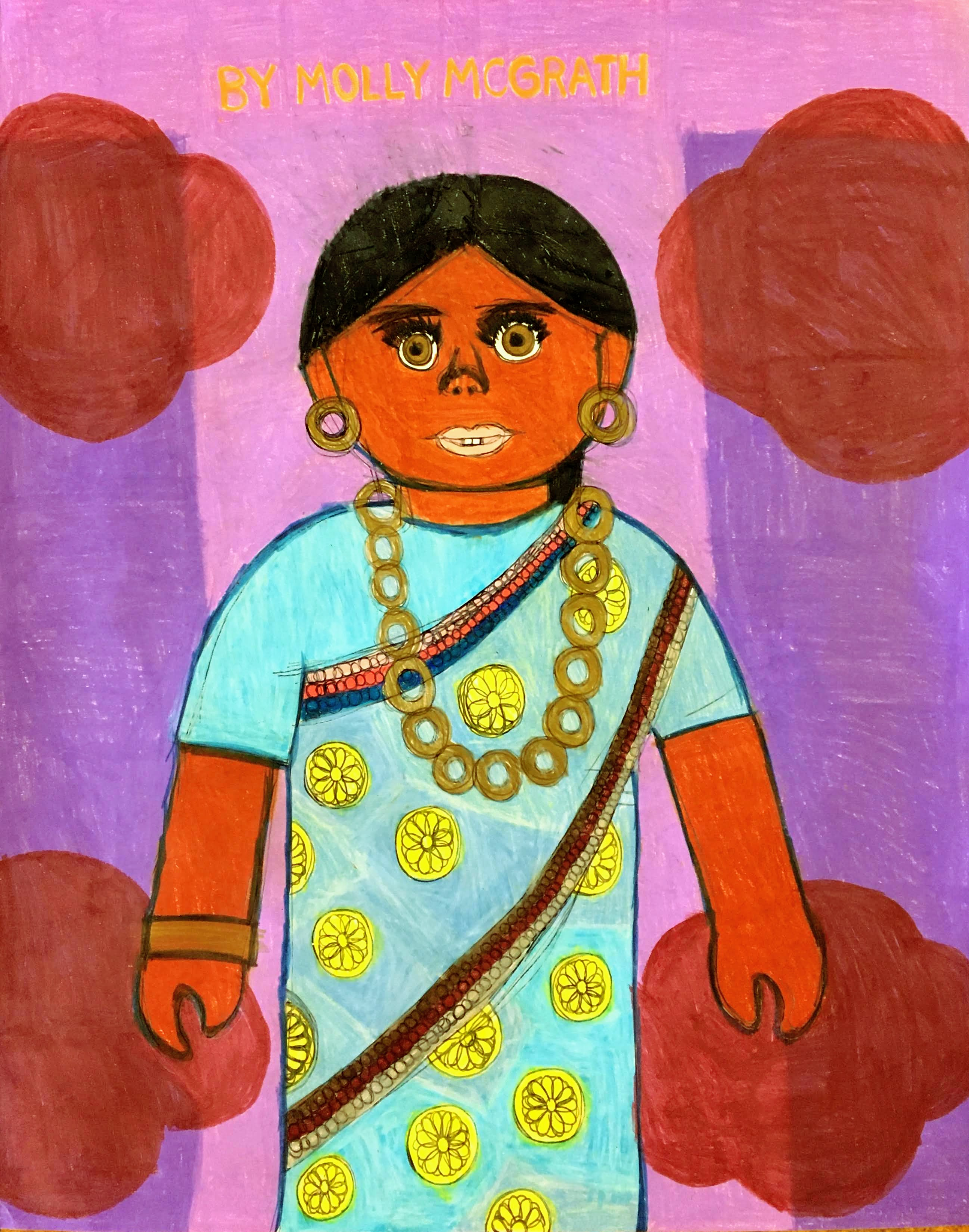 """""""Karuna From India"""" by Molly McGrath"""