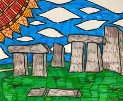 """""""Stonehenge"""" by Moe Mansur"""