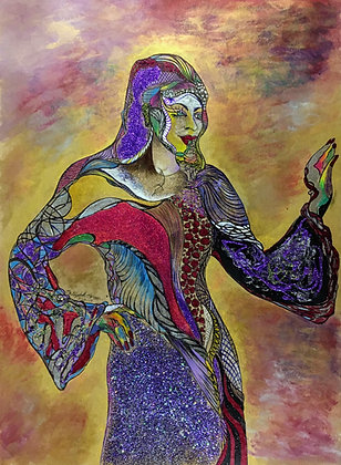 """Magic Woman"" by Elizabeth Barren"
