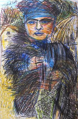 """Village Woman"" by Michael Smith"