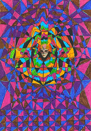 """Mask On"" by Bill Douglas"