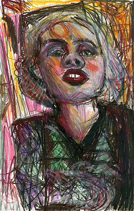 """Festive Lady"" by Michael Smith"