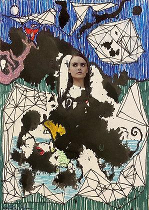 """""""Woman in Clouds"""" by Bill Douglas"""
