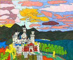 """""""Neuschwanstein Castle"""" by Matthew Bianchi"""