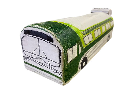 """""""Old Man Bus in Green"""" by Ricky Willis"""