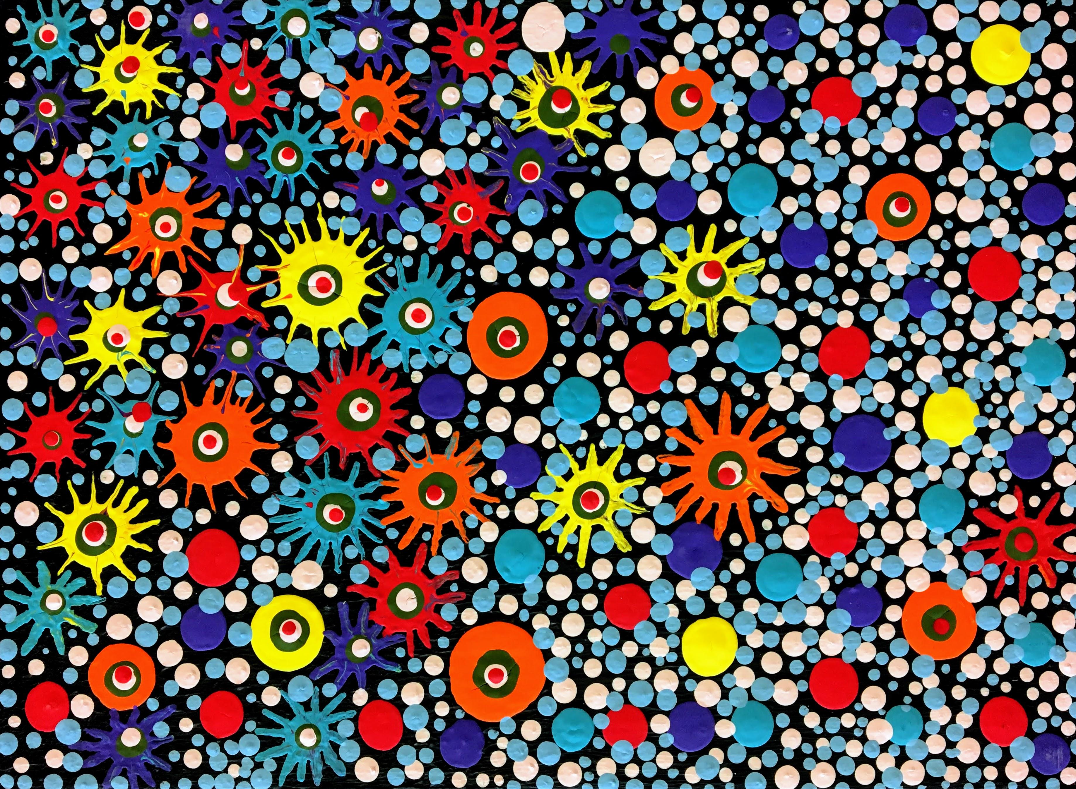 """Starbust Motif"" by Sheila Smith"