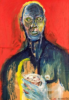 """""""Man with Drink"""" by Luke Shemroske"""