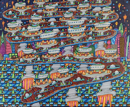 """Conveyor Belt"" by James Hall"