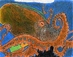 """""""Mighty Octopus"""" by Franklin Armstrong"""