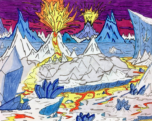 """""""Fire and Ice"""" by Jason Harris"""