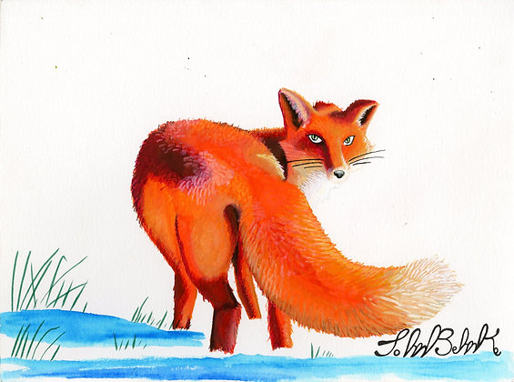 """Fox"" by John Behnke"