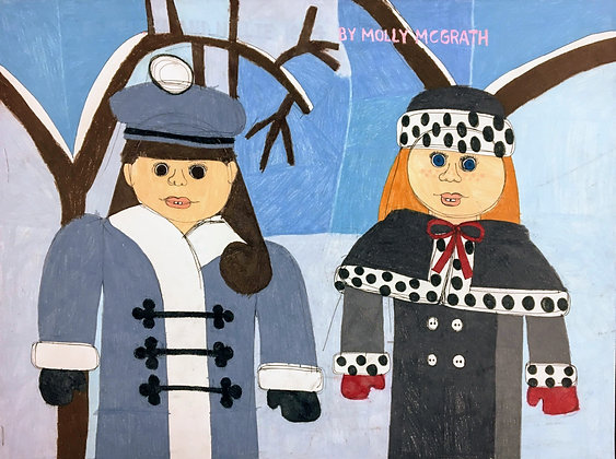 """""""Winter Friends"""" by Molly McGrath"""