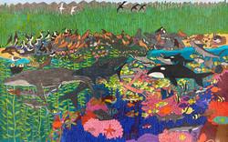 """""""Aquatic Creatures of Baja"""" by Blake Lenoir"""