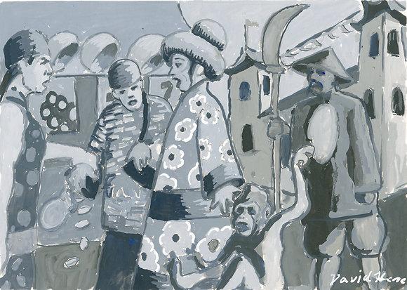 """Black Pebble 4"" by David Hence"