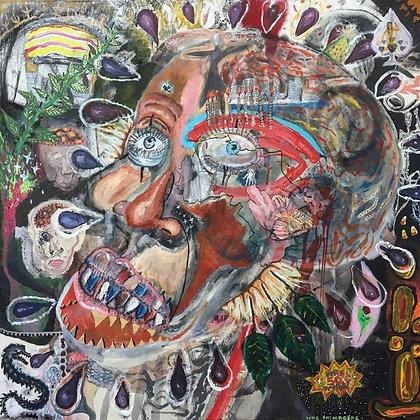 """""""Happy Bday Skull"""" by Luke Shemroske"""