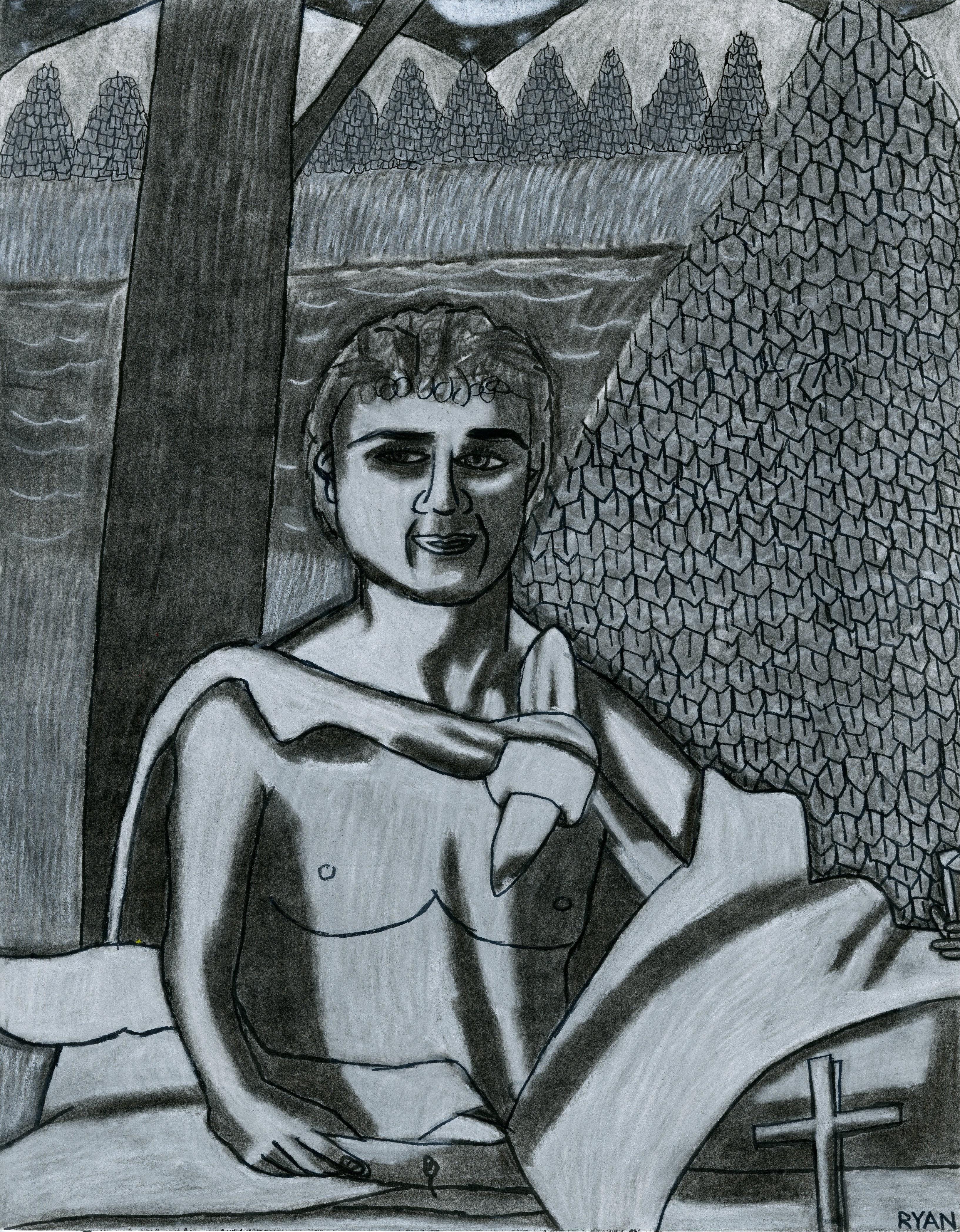 """""""Roman Man"""" by Ryan Tepich"""