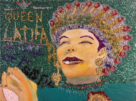 """Queen Latifah"" by Sereno Wilson"