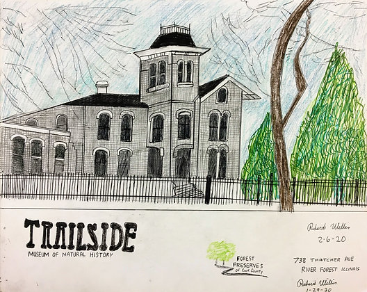 """""""Trailside Museum of Natural History"""" by Ricky Willis"""