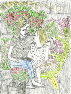 """""""Garden Storytime"""" by Franklin Armstrong"""