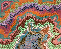 """Organic Dots"" by Sheila Smith"