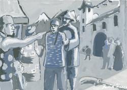 """Black Pebble 6"" by David Hence"