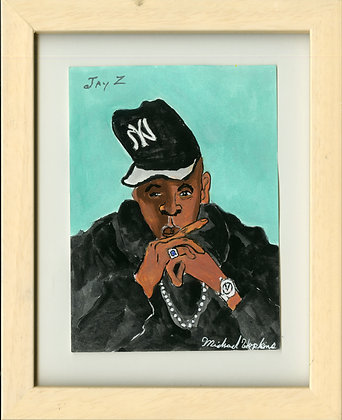 """Jay Z"" by Michael Hopkins"