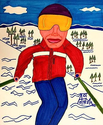 """Ski Trip"" by Allen McNair"