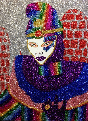 """Rainbow Jester"" by Sereno Wilson"