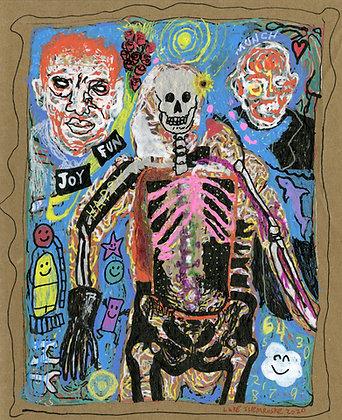 """Skeleton Guy"" by Luke Shemroske"