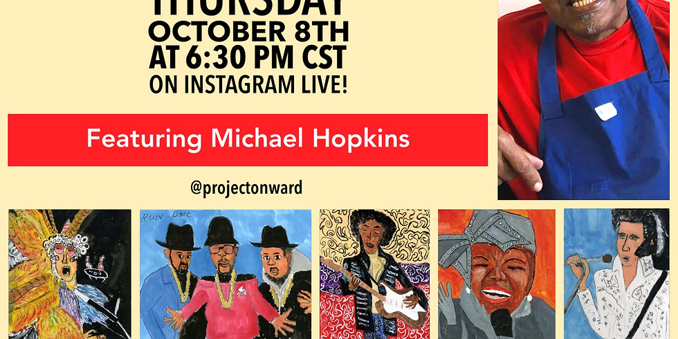 Artists at Home: Michael Hopkins