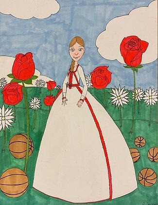 """Bulls Maiden"" by Jacqueline Cousins Oliva"