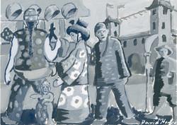 """Black Pebble 3"" by David Hence"