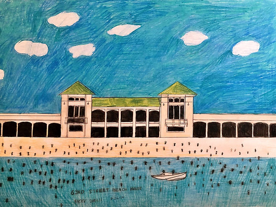 """63rd Street Beach House"" by Ricky Willis"