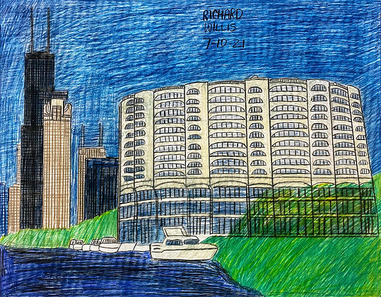 """""""River City Apartment Complex"""" by Ricky Willis"""