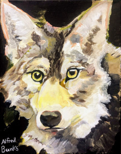 """""""Wolf 1"""" by Alfred Banks"""