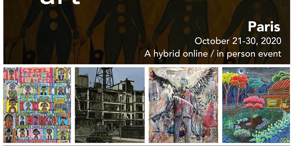 Project Onward at the Paris Outsider Art Fair