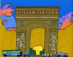 """""""L'arc de Triomphe"""" by David Holt"""