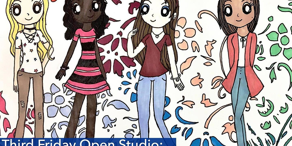 Third Friday Open Studio: Feminine Visions