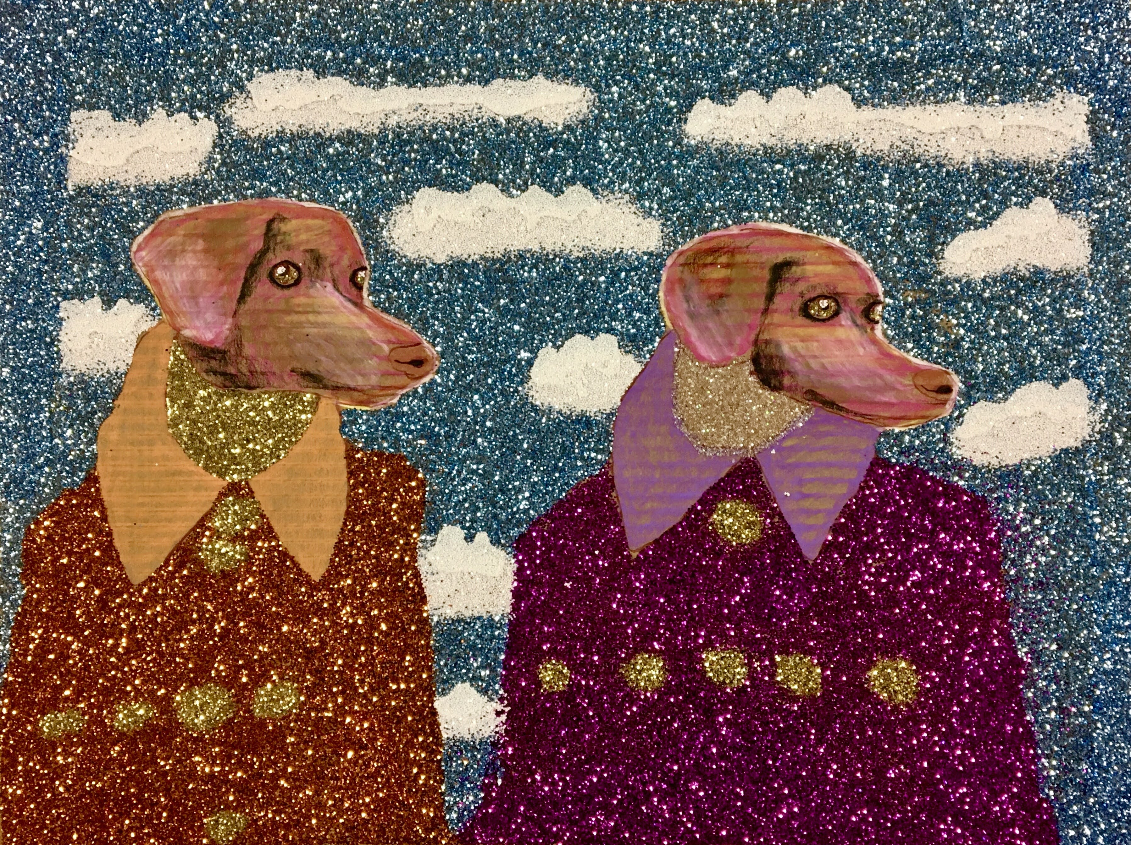 """""""Dapper Dogs"""" by Sereno Wilson"""